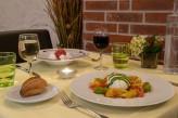 Domaine de la Courbe - table restaurant