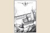 Abbaye des Vaux de Cernay - Gravure Abbaye