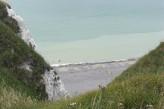 Hôstellerie la Vielle Ferme - Plage du Tréport vue des falaises à 8 km de l'hôtel