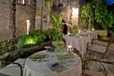 Hostellerie Le Castellas - Terrasse de nuit