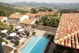 Hostellerie Berard & Spa - Terrasse Piscine