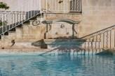 Hostellerie Bérard & Spa - Vue Piscine Extérieure