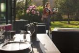 Hôtel l'Aubinière & Spa – Service en terrasse