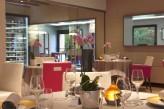 Hôtel l'Aubinière & Spa – Table restaurant détail