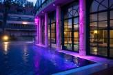 Hôtel les Violettes & Spa - Piscine Extérieure de Nuit
