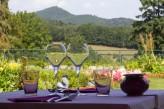 Hôtel les Violettes & Spa - Restaurant Extérieur