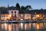 le port de Saint Goustan de nuit, à 70km de l'hôtel le Roi Arthur @BERTHIER-Emmanuel