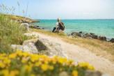 Pause sur la Côte sauvage entre la Pointe du Pô et la Plage Saint Colomban à env 90km de l'hôtel le Roi Arthur @PORIEL-Thibault