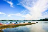 l'île aux Moines - Ponton - traversée en 5 min depuis le Port Blanc situé sur la commune de Baden à 70km de l'hôtel le Roi Arthur @Loic-KERSUZAN