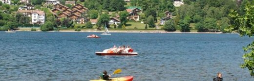 hotel la Jamagne activites lac de Gerardmer