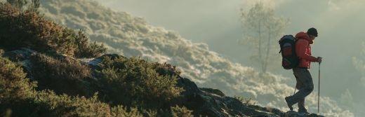 Tréhorenteuc- randonneur-au-Val-sans-Retour-dans-la-forêt-de-Brocéliande-à-15km-de-l-hôtel-le-roi-arthur@BERTHIER-Emmanuel