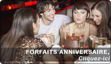 Forfaits anniversaire chateau Clery